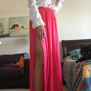 Zara maxi skirt NWT